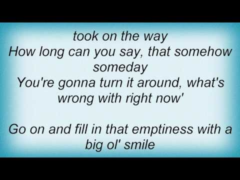 Steve Azar - What's Wrong With Right Now Lyrics