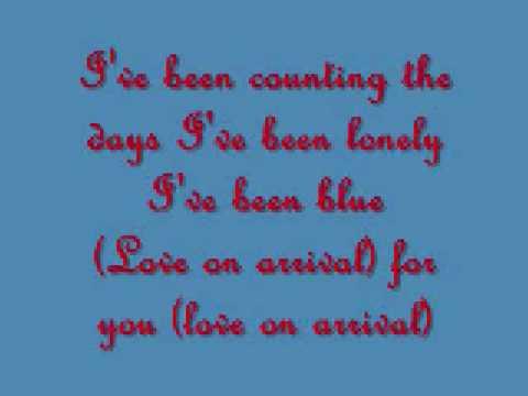 Dan Seals-Love On Arrival and Lyrics