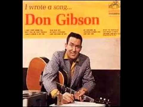 DON GIBSON - I Can't Stop Loving You