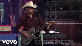 Brad Paisley – Then (live On Letterman) Thumbnail